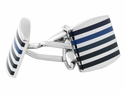 Fifty Shades of Blue Cufflinks