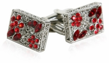 Filigree Cuffs in Red