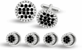 Forever Black Cufflinks & Studs (DISCONTINUED)