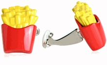 French Fries Cufflinks