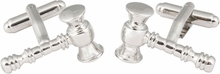 Gavel Cufflinks for Judge