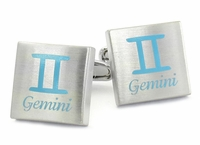 Gemini Horoscope Cufflinks