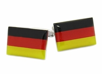 German Flag Cufflinks