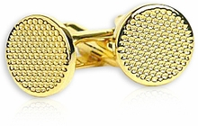 Gold Metal Cufflinks