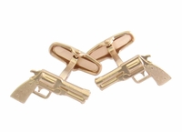 Golden Gun Cufflinks