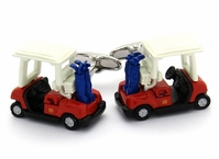 Golf Cart Cufflinks