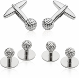 Golf  Formal Set Cufflinks & Studs
