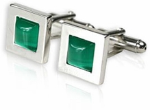 Green Glass Cuffs (DISCONTINUED)