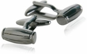 Gun Metal Barrel Cufflinks