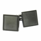 Gunmetal Blacked Out Cufflinks