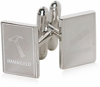 Hammered and Plastered Cufflinks