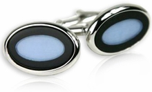Ice Blue Cufflinks
