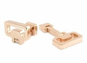 Innovative Rose Gold Cufflinks