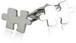 Jigsaw Puzzle Cufflinks (Autism Awareness Month)