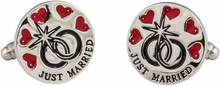 Just Married Cufflinks