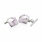Ladies Pink Cufflinks (ON BACK ORDER)