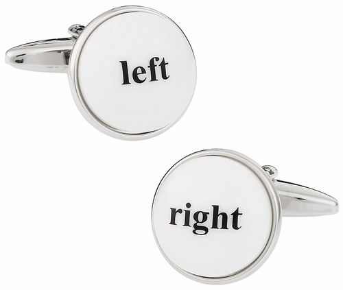 Left and Right Cufflinks