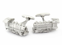 Locomotive Train Cufflinks