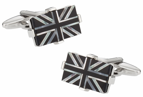 Luxury Union Jack Cufflinks