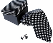 Mens Checkered Tie