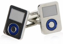 MP3 Player Music Cufflinks