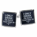 My Drinking Cufflinks