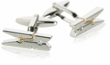 Novelty Cufflinks Clothespin