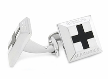 Onyx Cross RA Cufflinks