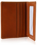 OVERSTOCK DEAL:  Brown Leather Wallet