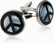 Peace Cufflinks (DISCONTINUED)