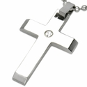 Perfect Cross with CZ Accent