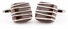 Piece of Chocolate Cufflinks