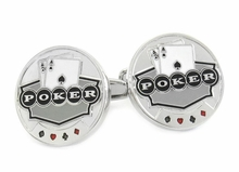 Poker Chip Lucky Cufflinks