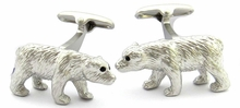 Polar Bear Cufflinks