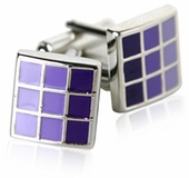 Purple Cufflinks