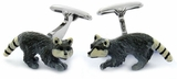 Raccoon Cufflinks