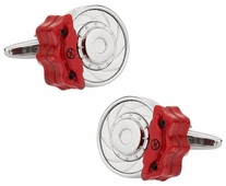 Racing Disc Brake Cufflinks