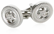 Racing Tire Cufflinks