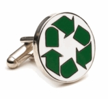 Recycle Symbol Cufflinks