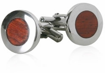 Rich Wood Cufflinks