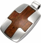 Rich Wood pendant Cross