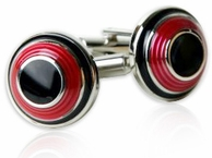 Ringed & Domed Cufflinks
