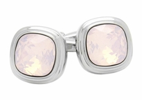 Rose Water Opal Crystal Cufflinks