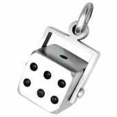Rotating Dice pendant