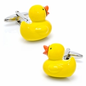 Rubber Ducky Cufflinks
