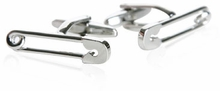 Safety Pin Cufflinks