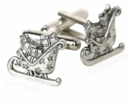 Santa Clause Cufflinks