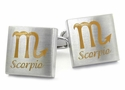 Scorpio Zodiac Sign Cufflinks