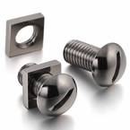Screw and Nut Bolt Gunmetal Cufflinks