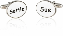 Settle or Sue Cufflinks